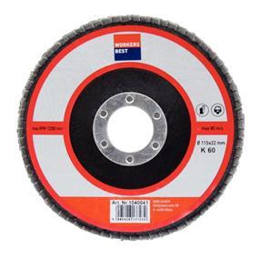 Brúsny tanier 115x22 K 60 konvexné