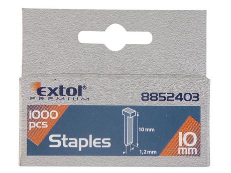 Hřebíky 1000ks Extol Premium - Hřebíky 14mm 1000ks 2.0x0,52x1,2mm Extol