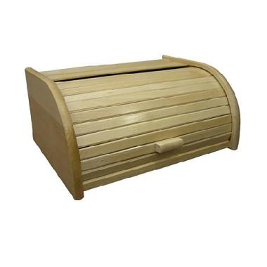 Chlebovka dřevěná bor. 390 x 280 x 180 mm