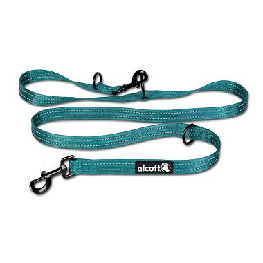 Alcott nastaviteľné vodítko pre psy, modré, veľkosť M
