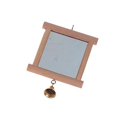 Karlie Zrkadlo so zvončekom pre vtáky 13x10cm