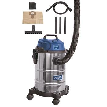 ASP 15 ES - priemyselný vysávač na suché / mokré vysávanie 15 l