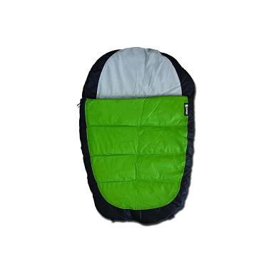 Alcott spacák pre psov, šedý / zelený, veľkosť S