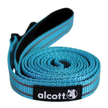 Alcott reflexné vodítko pre psy, modré, veľkosť M