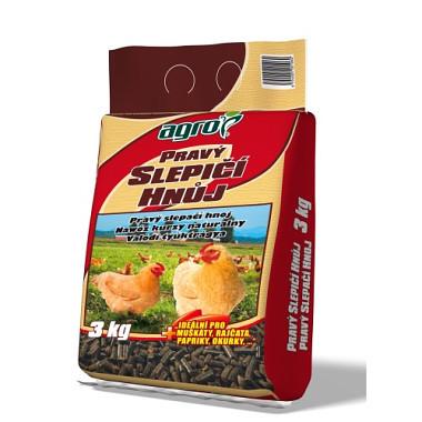 hnoj pravý slepačie 3kg AGRO