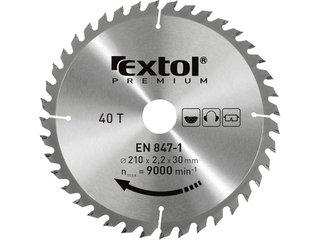 EXTOL PREMIUM kotúč pílový s SK plátkami 125x1,3x22,2mm 8803207