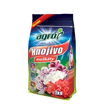 Agro organominerálne hnojivo muškáty 1 kg