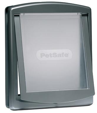 PetSafe Dvierka Staywell 777 Originál, strieborná, veľkosť L