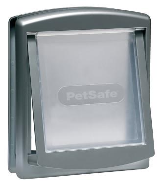 PetSafe Dvierka Staywell 757, strieborná, veľkosť M
