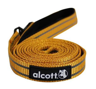 Alcott reflexné vodítko pre psy, oranžové, veľkosť M